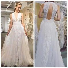 Say Hello to our newest arrival at Tie the Knot Boutique from @chicnostalgia ! Isn't she beautiful?! #tietheknotboutique #chicnostalgia #bohochic #bohobride #weddingdress #bohoweddingdress #bohowedding #beachwedding #beachweddingdress #weddinginspiration #bride #bridetobe #sayyestothedress #sarasota #bradenton #annamariaisland #stpete #stpetersburg #srq