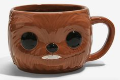 This adorable Star Wars Chewbacca mug will melt your heart.