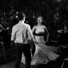 dancing at this elegant wedding ceremony in las vegas.