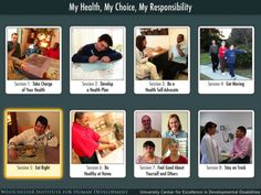 My Health, My Choice, My Responsibility ($24.99) is AbleLink's cognitively accessible self-directed learning App designed for self-paced learning of eight important topics necessary for maintaining a healthy lifestyle. Taking Charge of Your Health   Develop a Health Plan   Be a Health Self-Advocate  Get Moving   Eat Right   Be Healthy at Home   Feel Good About Yourself and Others   Stay on Track
