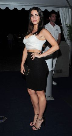 """breathtakingwomen: """"Jessica Lowndes at the a Yacht Party, Cannes May, """" Jessica Lowndes getting it right in a figure hugging bra top, tight pencil skirt and sexy ankle strap high heels. Dress Skirt, Peplum Dress, Strapless Dress, Tight Pencil Skirt, Jessica Lowndes, Ankle Strap High Heels, Canadian Actresses, Celebs, Celebrities"""