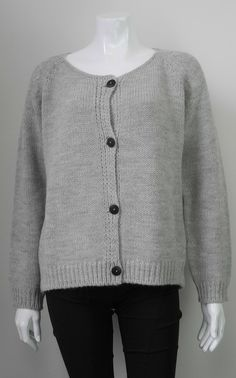 BOYFRIEND CARDIGAN by RABENS SALONER Available at All Style alpaca + merino + acrylic blend | boxy style | scoop back