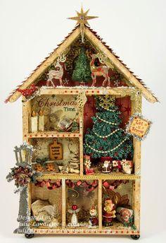 Juliz Design Post: Home For Christmas