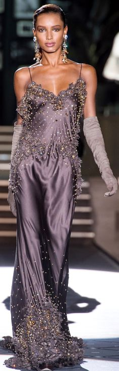 DSquared2, Fall 2013  So Pretty.. Love this color with fullness and the gloves :)
