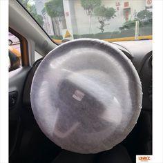 Cubre volante de material spundbond Bucket Hat, Shopping, Racing Wheel, Cover