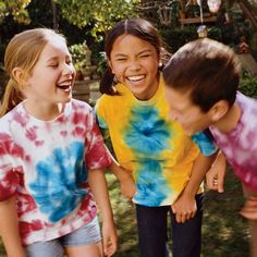 Rainbow Tie-dyed T-shirts