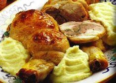 Le cosce di pollo ripiene con purè costituiscono una preparazione impegnativa, si apriranno le cosce disossandole e si farciranno con un composto di ...