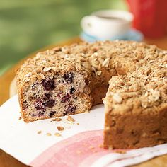 Cherry Ripple Sour Cream Coffee Cake by Cooking Light