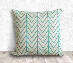 Geometric Pillow Cover, Pillow Cover, Pillow Cover Geometric, Linen Pillow Cover, 18x18 - Printed Geometric - 009 by 5CHomeDecor on Etsy
