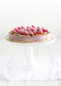 Creamy, rich and delicious –  it's hard to believe that this cake, using virgin coconut oil, gets the thumbs up in the healthy stakes.