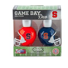 SYRACUSE ORANGE GAME DAY DUO NAIL POLISH SETSYRACUSE UNIVERSITY NAIL POLISHINCLUDES 2 BOTTLES AS SHOWN * You can find more details by visiting the image link.