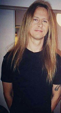 Jerry Cantrell. I'm proud to say that my nose connected with his chest in a moment of club vacating confusion. Shit, he's tall.
