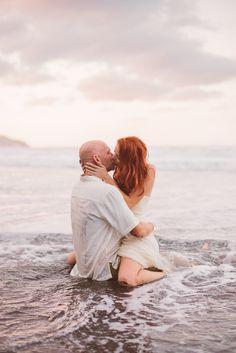 Real Weddings: Pauline and Michael's Hawaiian Cliffside Elopement