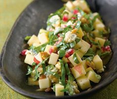 Chopped Apple Salad Recipe | from Bobby Flay's Bar Americain cookbook | House & Home