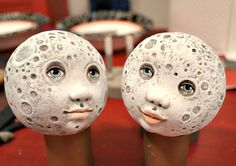 Cart before the horse - how to make the moon heads