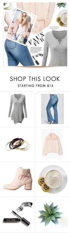 """""""Faur faux style"""" by yexyka ❤ liked on Polyvore featuring MANGO, Charlotte Russe, Mr. Coffee and Bobbi Brown Cosmetics"""
