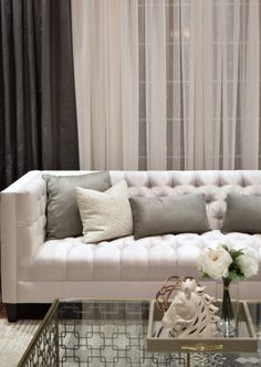 Elegant Homes, Transitional Style, Collaboration, Throw Pillows, Living Room, Bed, Projects, Decor, Cushions