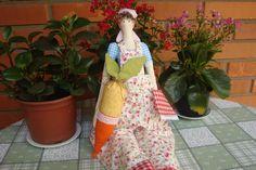 Tilda jardineira do blog Costurinha  www.costurinhadaclau.blogspot.com.br