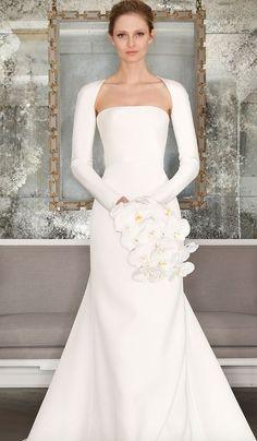 Wedding dress idea; Via Romona Keveza