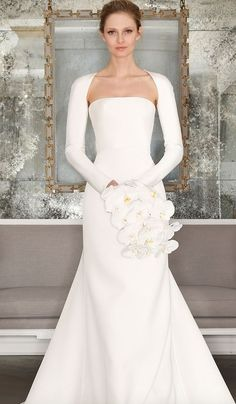 Wedding dress idea; Via Romona Keveza