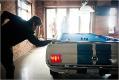 1965 SHELBY GT-350 POOL TABLE. Can be yours for 15k USD.