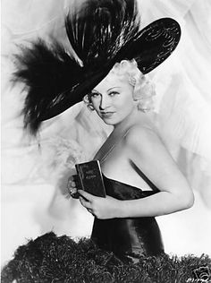 Mae West with her diary