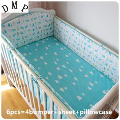Baby set Crib Baby bedding sets for cot Cotton Baby Sheet bumpers ,include(bumper sheet pillow cover) Baby Cot Bedding Sets, Baby Cot Sets, Baby Crib Sheets, Crib Sets, Bed Sets, Comforter Set, Baby Cot Bumper, Bed Bumpers, Baby Set
