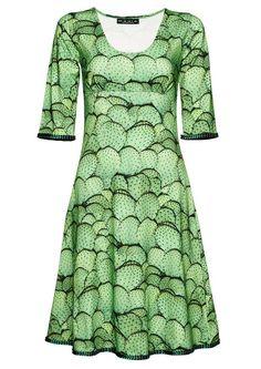 e39ad9ee2f0b Køb MANIA Copenhagen STELLA grøn kaktus kjole. Fri fragt