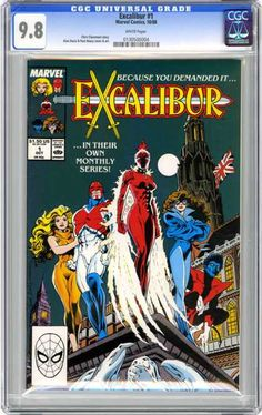 The first comic I ever subscribed to.
