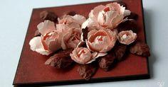 Wczoraj zrobiłam różę ze zwykłego papieru kolorowego 120g, który kiedyś kupiłam w Lidlu. Spodobała mi się bardzo więc zrobiłam zdjęcia a...