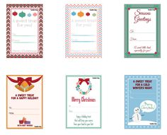 Free, holiday-themed mason jar labels. diy crafts download festive Christmas