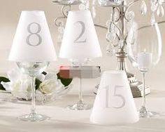 Resultado de imagen para numeros de mesa boda