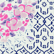 Image of Wallpaper Floral Pillowcase