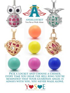 Memory Lockets with Mini Charms