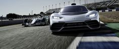 Mercedes-AMG Project One Debuts in Frankfurt with HP and 4 Electric Motors Thing 1, Electric Motor, Mercedes Amg, Frankfurt, Luxury Cars, Motors, Fancy Cars, Motorbikes