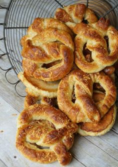 Asiago Cheese Soft Pretzels.  Crispy edged, pillow soft inside, cheesy, buttery, salted goodness. Ready in 30 minutes.