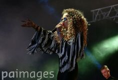 Ella Eyre performing on the Pepsi Max Stage at the Wireless Festival in Finsbury Park, north London.