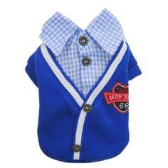 Stylish Dog Coat Dog Polo Dog Western Shirt Pet Sweatshirt Cozy Dog Clothes Free Shipping,M « Pet Lovers Ads