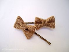 Hey, I found this really awesome Etsy listing at https://www.etsy.com/listing/210698063/fabric-hair-pins-small-natural-burlap