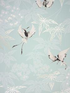 Papier peint Osborne & Little, Grove Garden W5603-03,