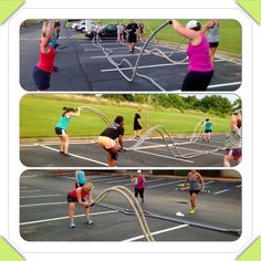 Work'n on our fitness!!