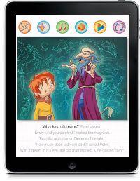 Seller of Dreams story app Publisto PreK-2 bonus games & activities