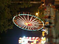 Amusement park at night ❤