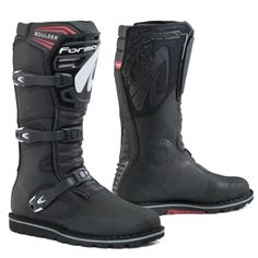 forma boulder motorcycle boots usa black