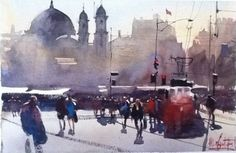 Featured image Álvaro Castagnet  #alvarocastagnet #acuarela #watercolor #galeriadeartetrinotortosa #ventadearte www.trinotortosa.com