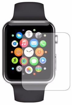 HD Clear Screen Protector Cover Shield for the Apple Watch [iWatch] 38mm/42mm sizes available.
