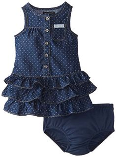 Calvin Klein Baby-Girls Infant Denim Dress with One Pocket On Chest, Blue, 18 Months Calvin Klein http://www.amazon.com/dp/B00NVEU03E/ref=cm_sw_r_pi_dp_knE8ub0V2EN6G