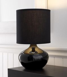 20 Awesome Bedroom Lamps To Brighten Your Space Black Lamps, Table Lamp, Lamps Living Room, Bedroom Lamps Nightstand, Simple Bedroom, Awesome Bedrooms, Bedroom Night Stands, Nightstand Lamp, Bedroom Lamps