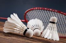 Badminton is a racket sport, like tennis and squash, and can be played as a singles game or a doubles match, just like tennis. The game takes place in a rectang Best Badminton Racket, Badminton Shoes, Tennis Racket, Popular Sports, Olympic Champion, Olympic Sports, One Team, Rackets