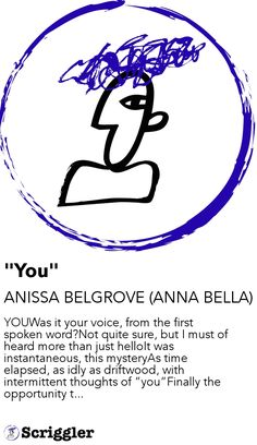 """You"" by ANISSA BELGROVE (ANNA BELLA) https://scriggler.com/detailPost/story/43602"